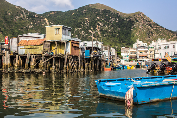 hong kong fishing village