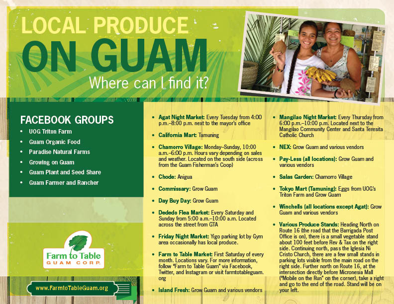 Local Produce Flyer 9-14