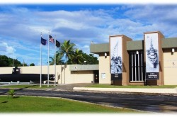 T Stell Newman Visitor Center Guam