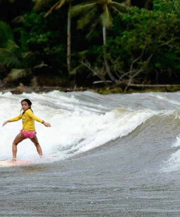 Surfer Girl Guam
