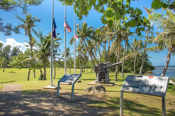 Agat War In The Pacific Park WWII Guam