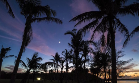 Hi Res Asan Beach Park Sunset Guam