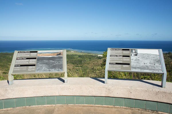 Asan Bay Overlook WWII Guam