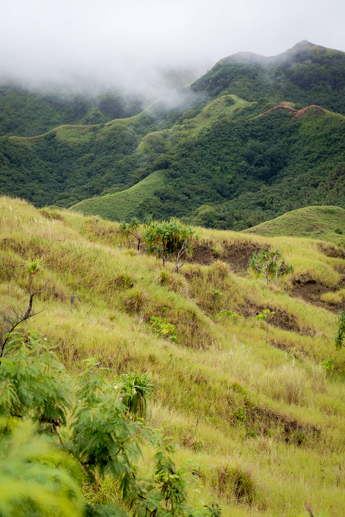 Guam's southern hills