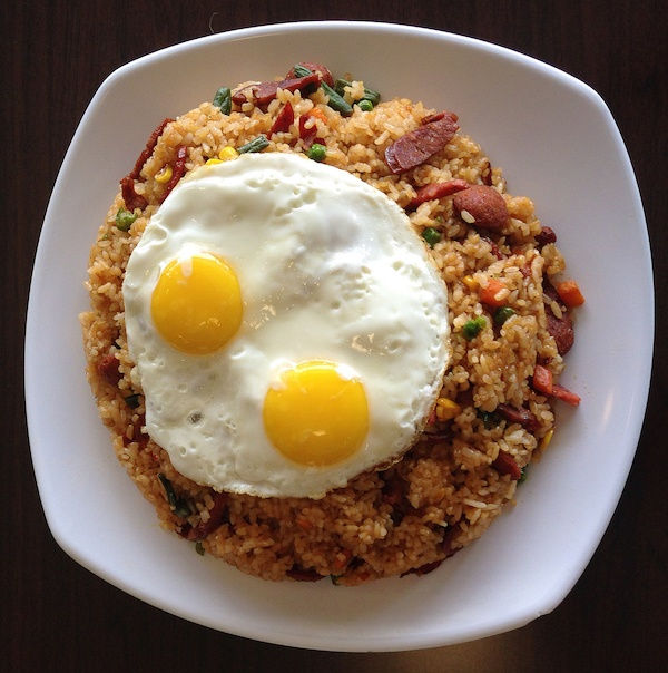 Guam Chamorro Matapang Fried Rice Food