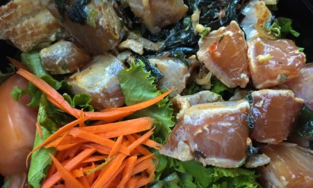 Salad from Poki Fry in Agana, Guam