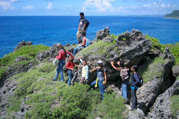 hiking on guam