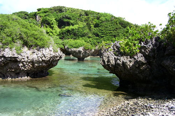 Spanish Steps Lagoon, Guam
