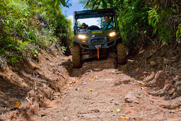 Palau Babeldaob off-road vehicle