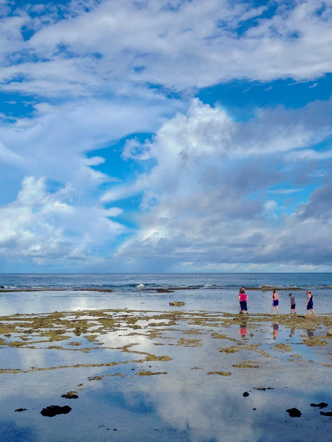 Tagachang Beach in Yona, Guam