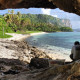 Rock Arch Tanguisson Beach Guam