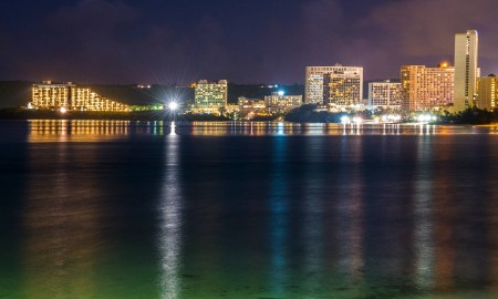 Tumon Bay Night Lights, Guam