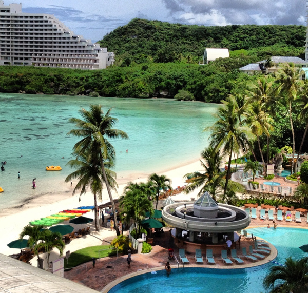 Tumon Bay Westin Pool, Guam