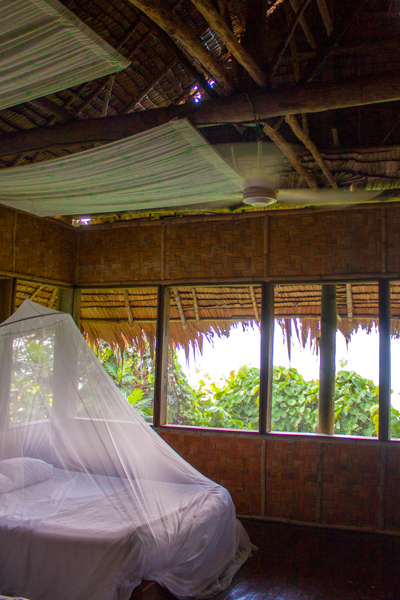 Pohnpei Village bungalow room