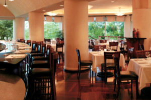 Al Dente Hyatt Guam dining room