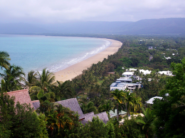 Cairns coast view