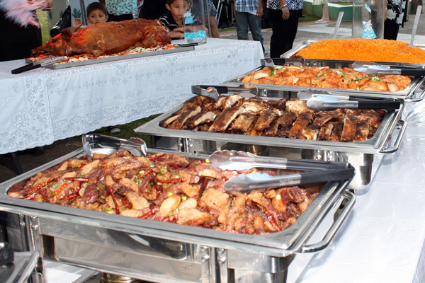 Chamorro Fiesta Table Balutan Guam