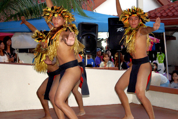Male Dancers Chamorro Village Guam