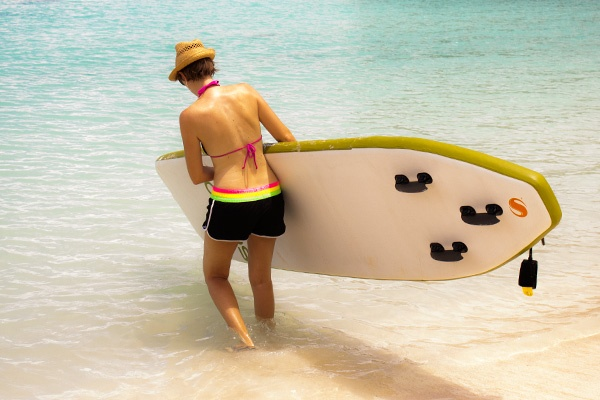 Stand-up Paddleboard on Tumon Bay, Guam