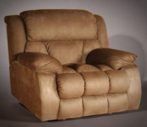 Furniture outlet recliner