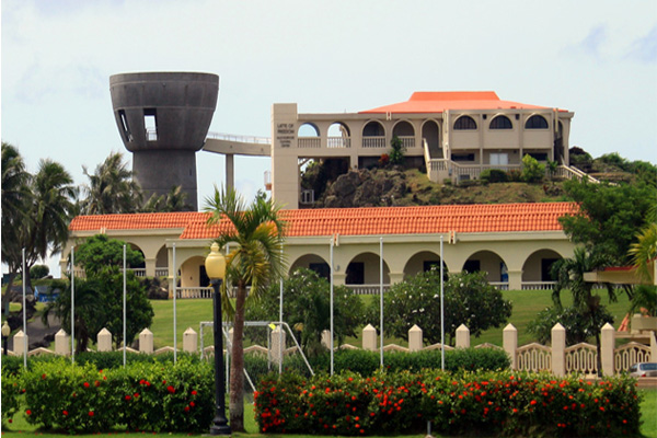 Governors Complex Latte of Freedom Guam