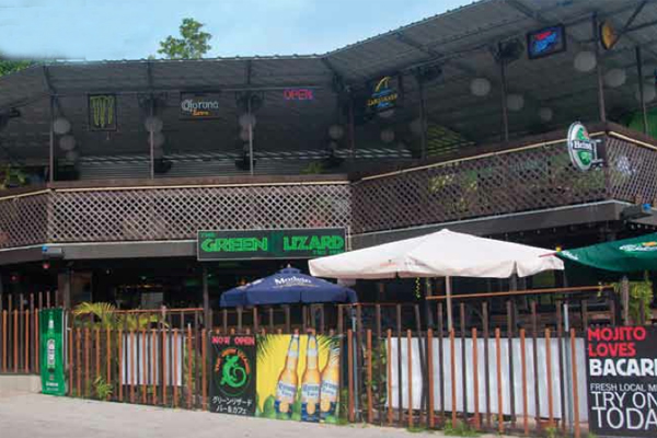 Green Lizard bar exterior