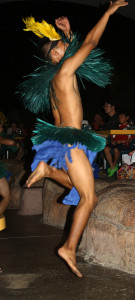 Dancer at Pacific Islands Club (PIC)