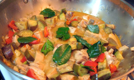 Panang Curry Thai Fresh Factor Guam