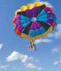 parasailing
