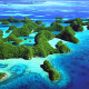 Rock Islands Pulau Micronesia