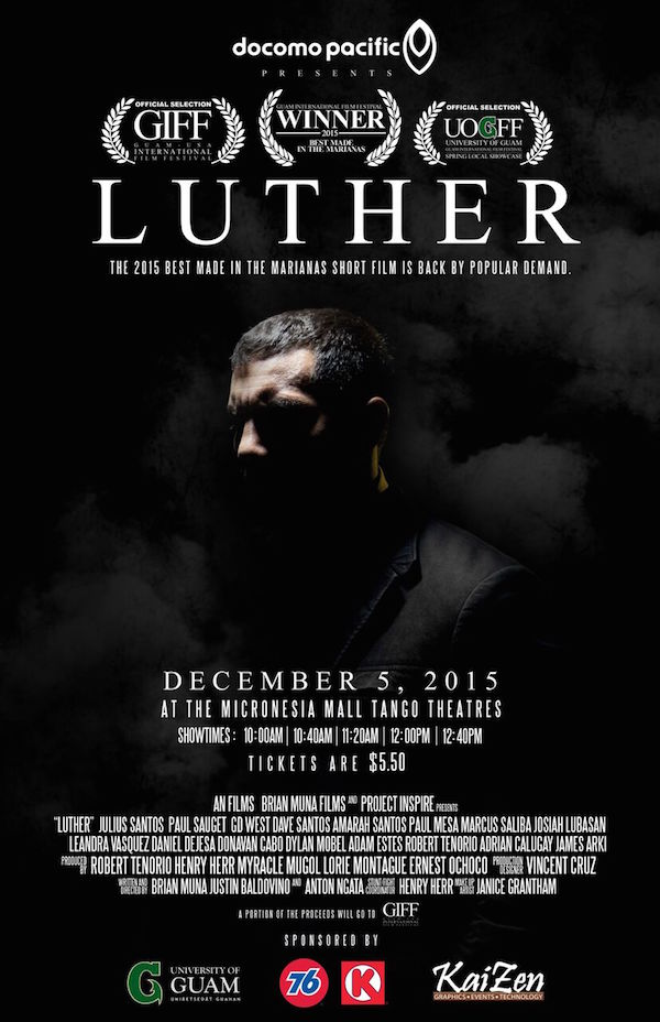 Guam International Film Festival Luther Movie Poster