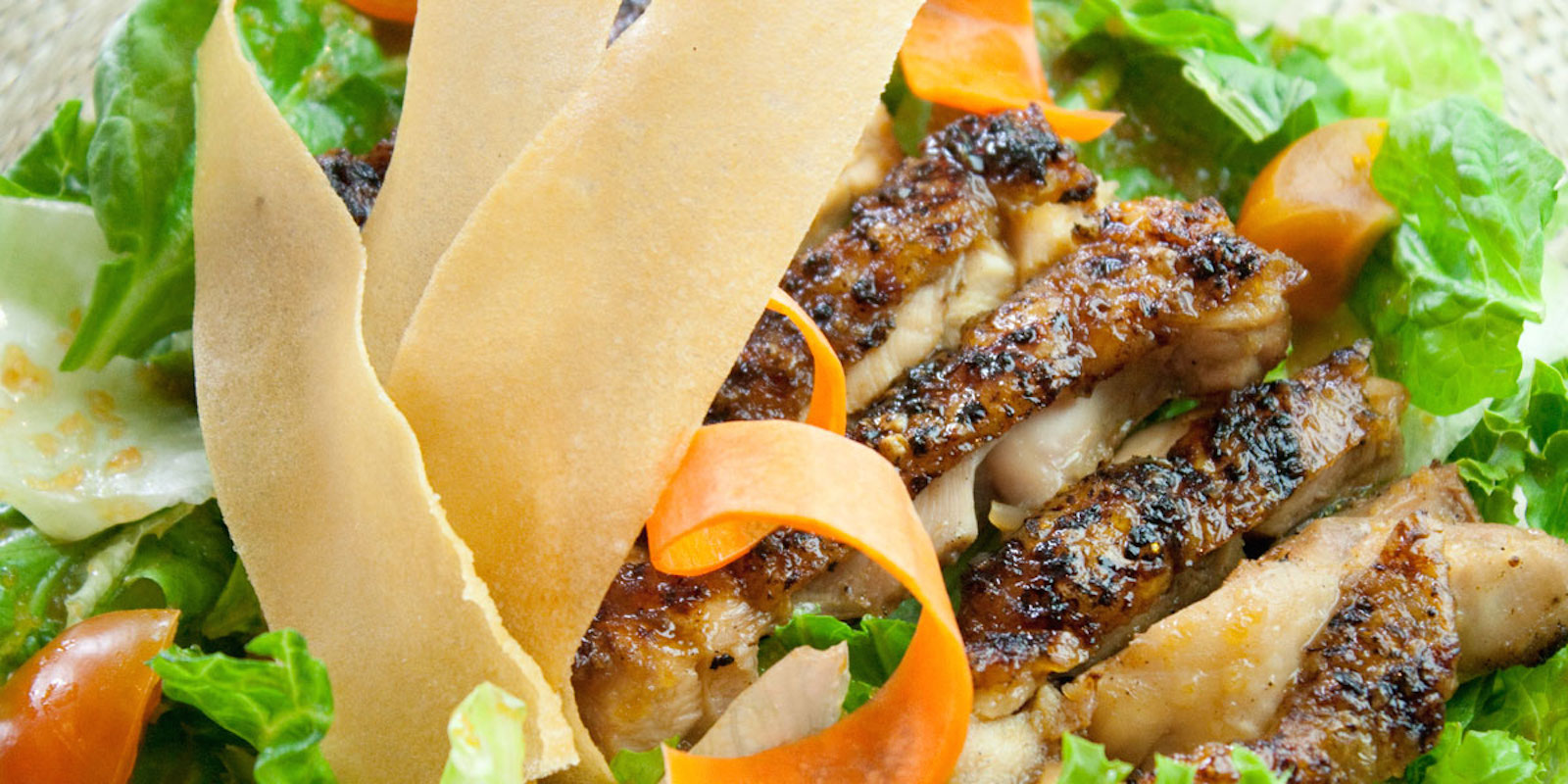terriyaki chicken salad guam
