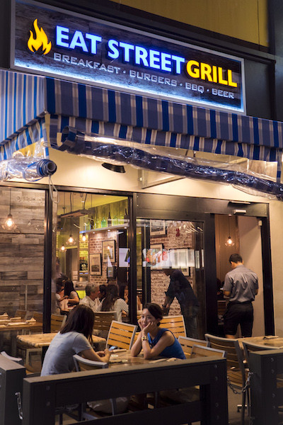 Eat Street Grill Plaza Shopping Center Guam