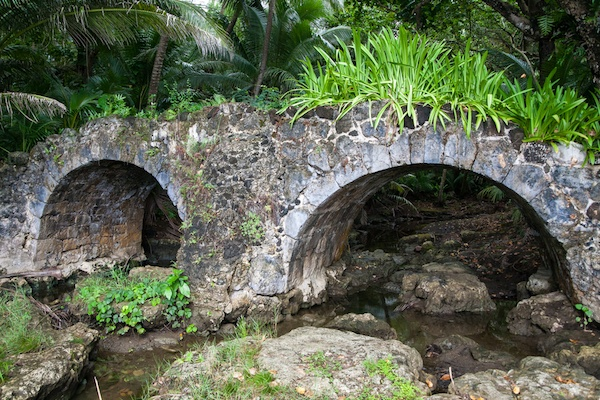 guam historical spots bridge
