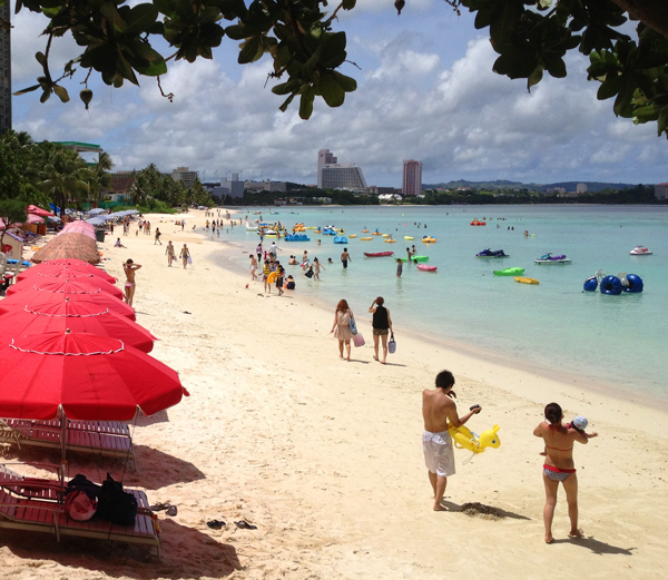 Tumon Bay beach