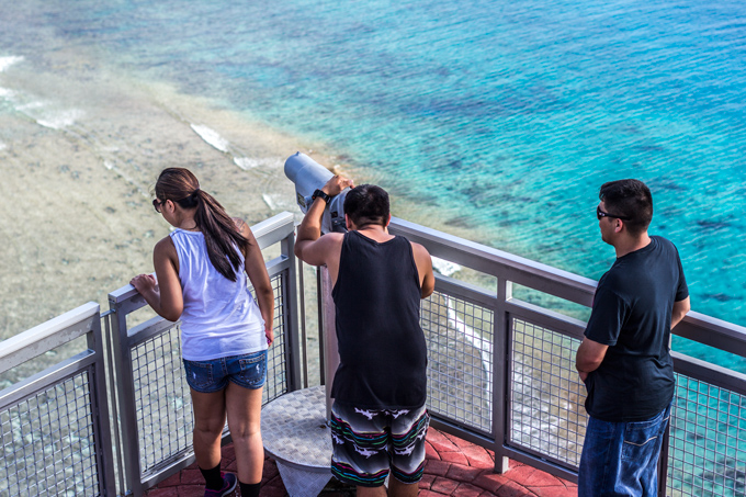 Telescope Two Lovers Point Guam