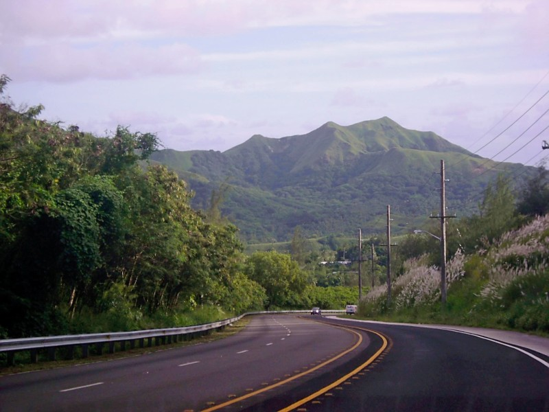 Hill Road Yona Guam