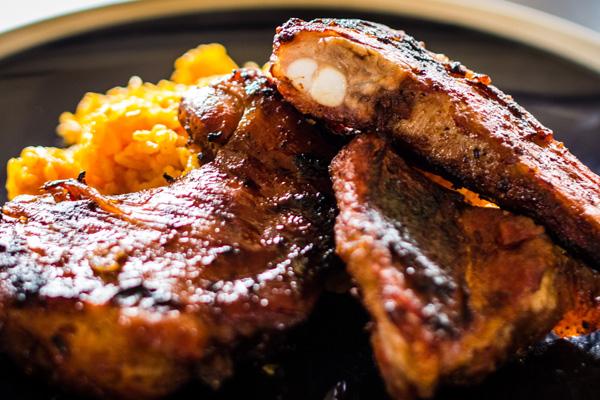 BBQ Chicken Spare Ribs Guam