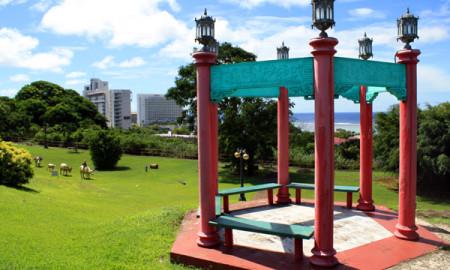 Gazebo Chinese Park Guam
