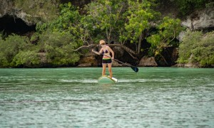 Standup Paddleboarding on Tumon Bay, Guam