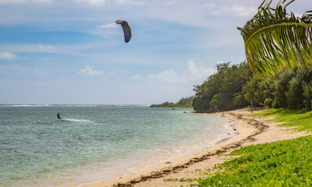 Kite Surfer, Ipan Beach