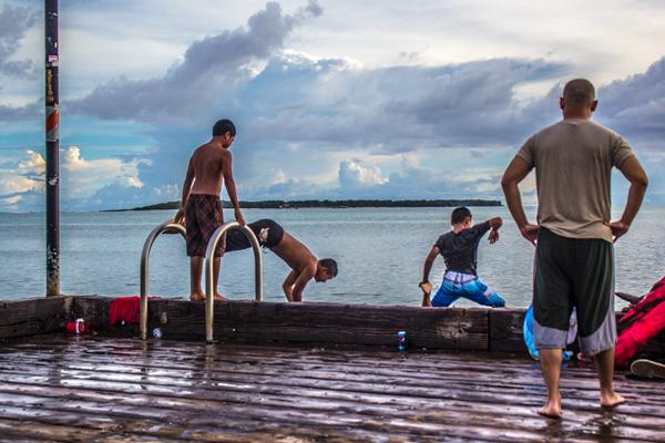 Jumpers Merizo Pier Guam