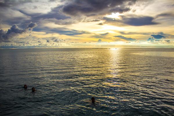 Sunset Merizo Pier Guam