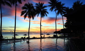 Pulau Sunset Micronesia