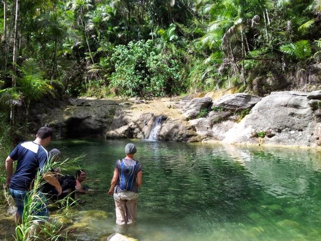 San Carlos Falls Swimming Hole Guam
