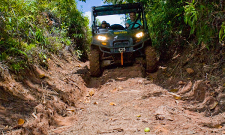 Offroad Pulau Micronesia