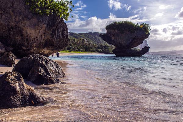 Sun Tanguisson Beach Guam