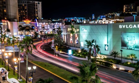 Tumon night lights, Guam