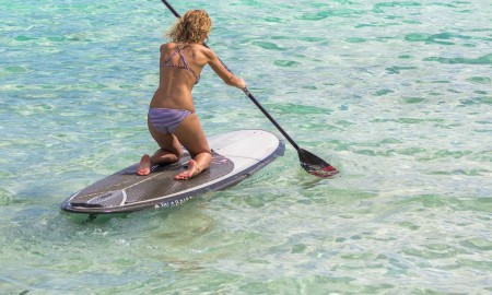 Standup Paddleboarding in Tumon Bay, Guam