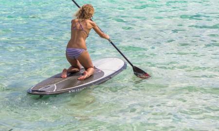 Standup Paddleboarding in Tumon Bay, Guam